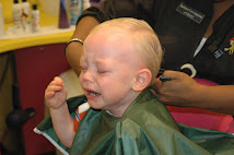 David's 1st Haircut