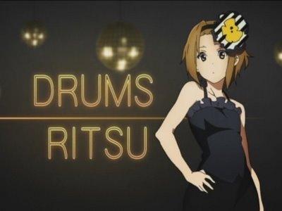 K-On! Ritsu+Drums