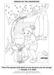 Childrens Ministry Blog VBS Coloring Pages