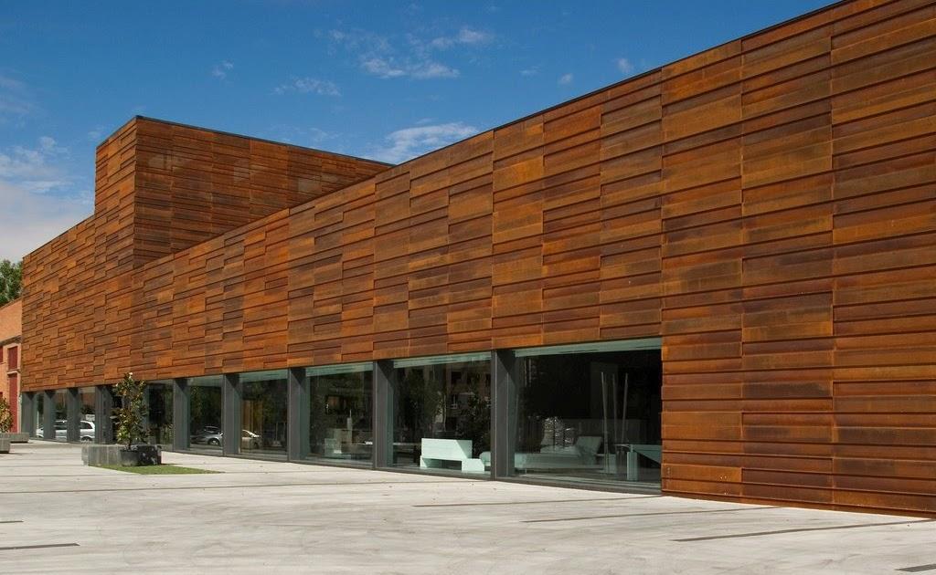 Imar arquitectura metal architecture metal - Acero corten fachadas ...