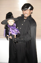 daddy the vampire and kynlee the witch