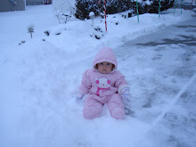 playing in the snow!