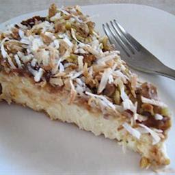 Coconut Macaroon Cheesecake