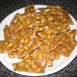 Christmas Mom's Best Peanut Brittle