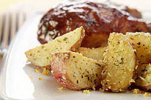Christmas KRAFT Golden Parmesan Potatoes Recipe