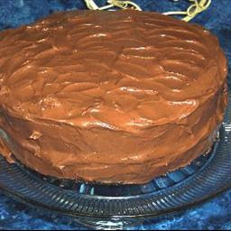 PERFECTLY CHOCOLATE CHOCOLATE CAKE AND FROSTING