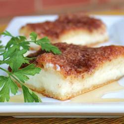 Sopapilla Cheesecake Pie recipe