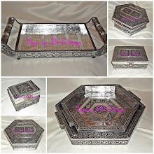 Silver Tray Set