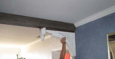 attach corbels to beam