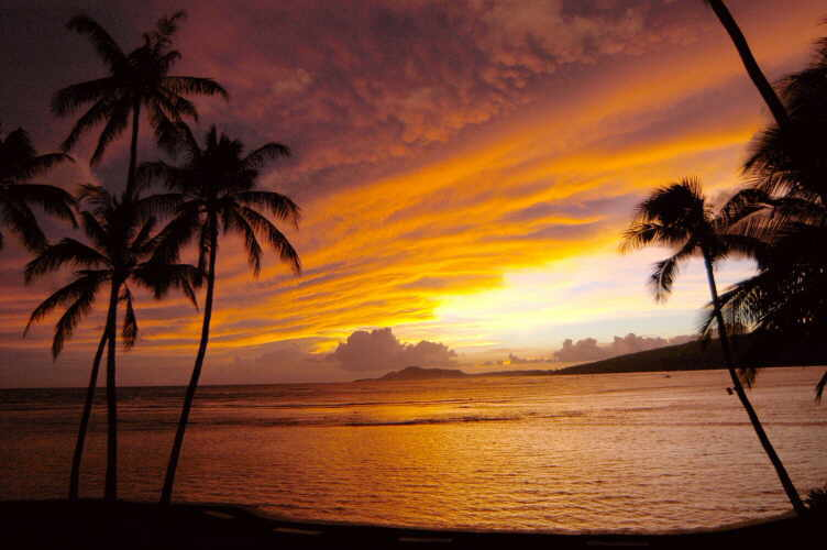 living in Hawaii.