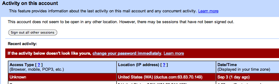 gmail account hacked. My Gmail/Google account has a