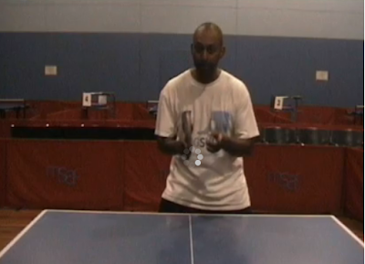 Australian Olymic coach training Table tennis on youtube