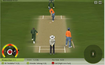 Site Blogspot  Games  Free  Phones on Howzat   A Free Multiplayer Online Cricket Game