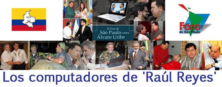 Los computadores de Raúl Reyes
