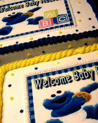treats cookie monster baby shower