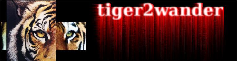 tiger2wander&#39;s blog