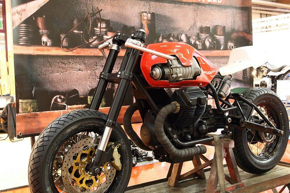 Compressore volumetrico per moto