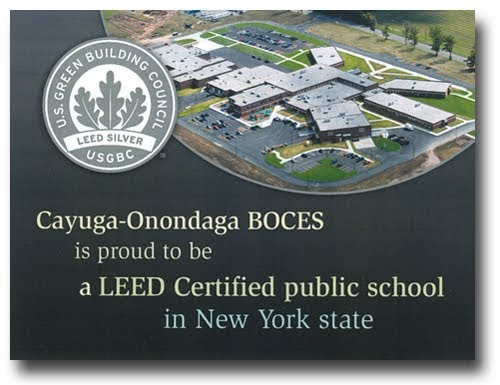 Green Innovations Cayuga Onondaga Boces Becomes First