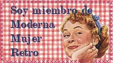 MODERNA MUJER RETRO