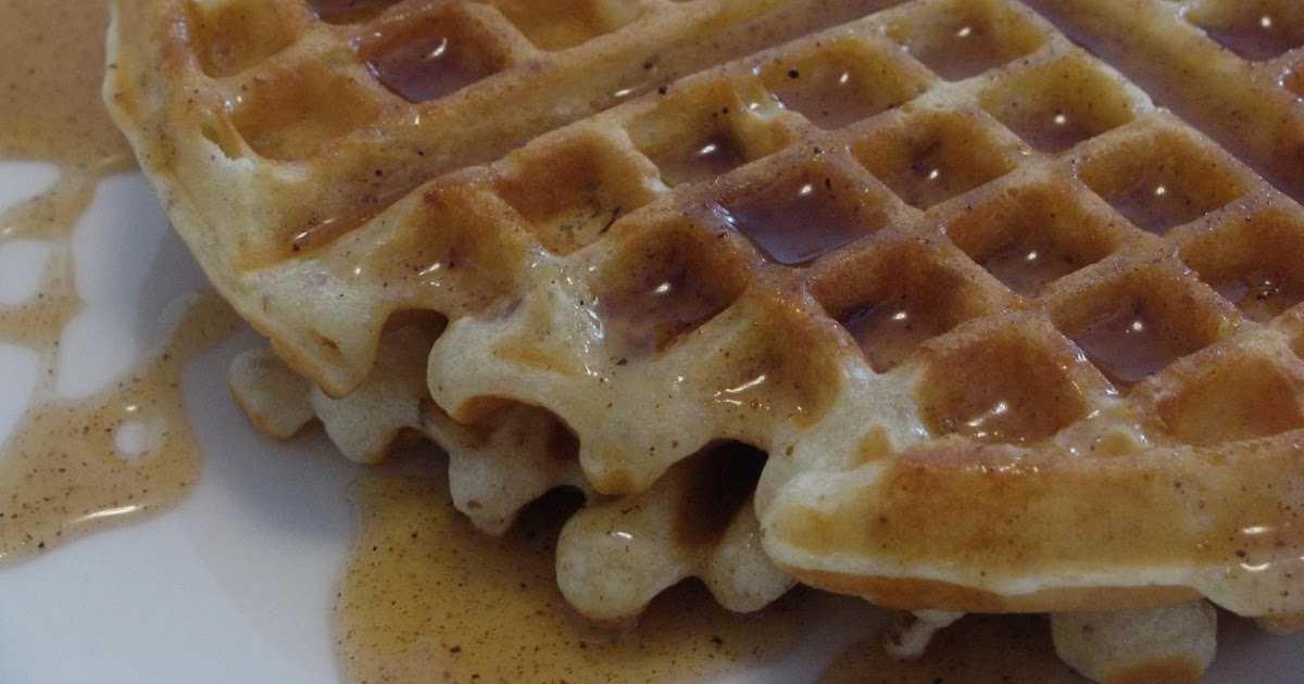 All From Scratch: Pecan Waffles with Honey Butter