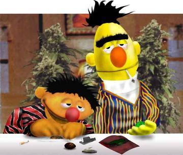 Justin Bieber Smoking Weed on 1208586180 Bert And Ernie Smoke Weed
