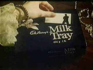 Cadbury Milk Tray chocolate advertising ad slogan