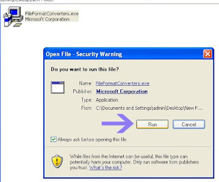 Tips Komputer Cara Membuka File Docx Office 2007 di Office 2003