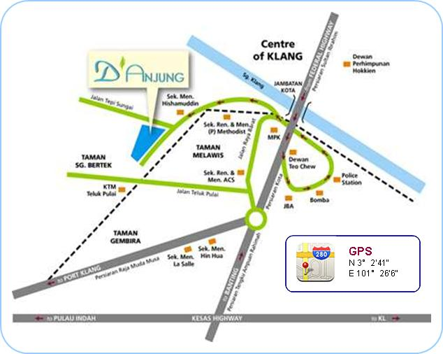 Investklproperty D Anjung Teluk Pulai Klang