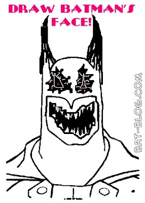 Batman Face Drawing