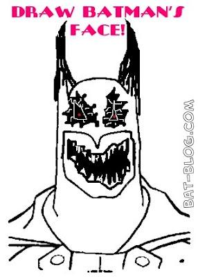 Batman Face Drawing