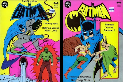 Vintage 1980s Batman Coloring Books I Have Never Seen