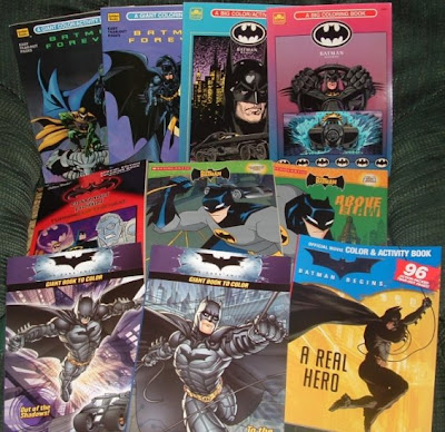 To The Bat Blog Named Charles Who Has A Special Focus Within His Batman Memorabilia Collecting That Is Hunt Down ALL Of Coloring Books