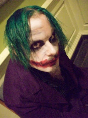 Heath Ledger as the Joker tattoo was done at the Arizona mesa show 09,