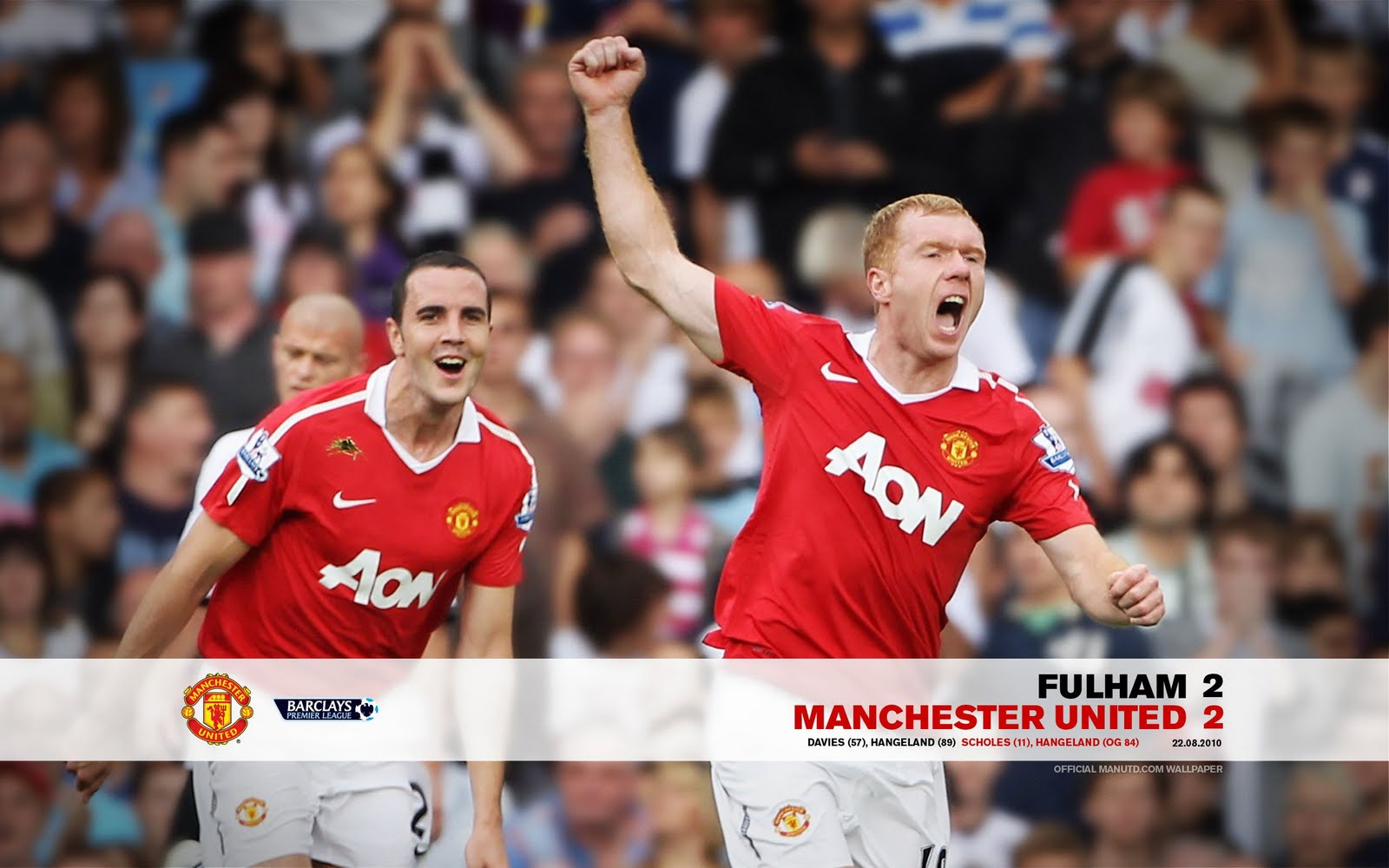 manchester united wallpaper android phone  Fulham Vs Manchester