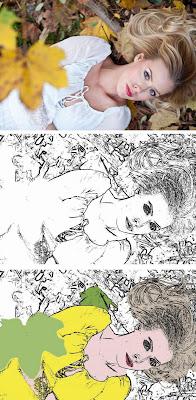 Tutorial GIMP - efecto de dibujo o pintura