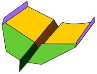Recortable: avión de papel