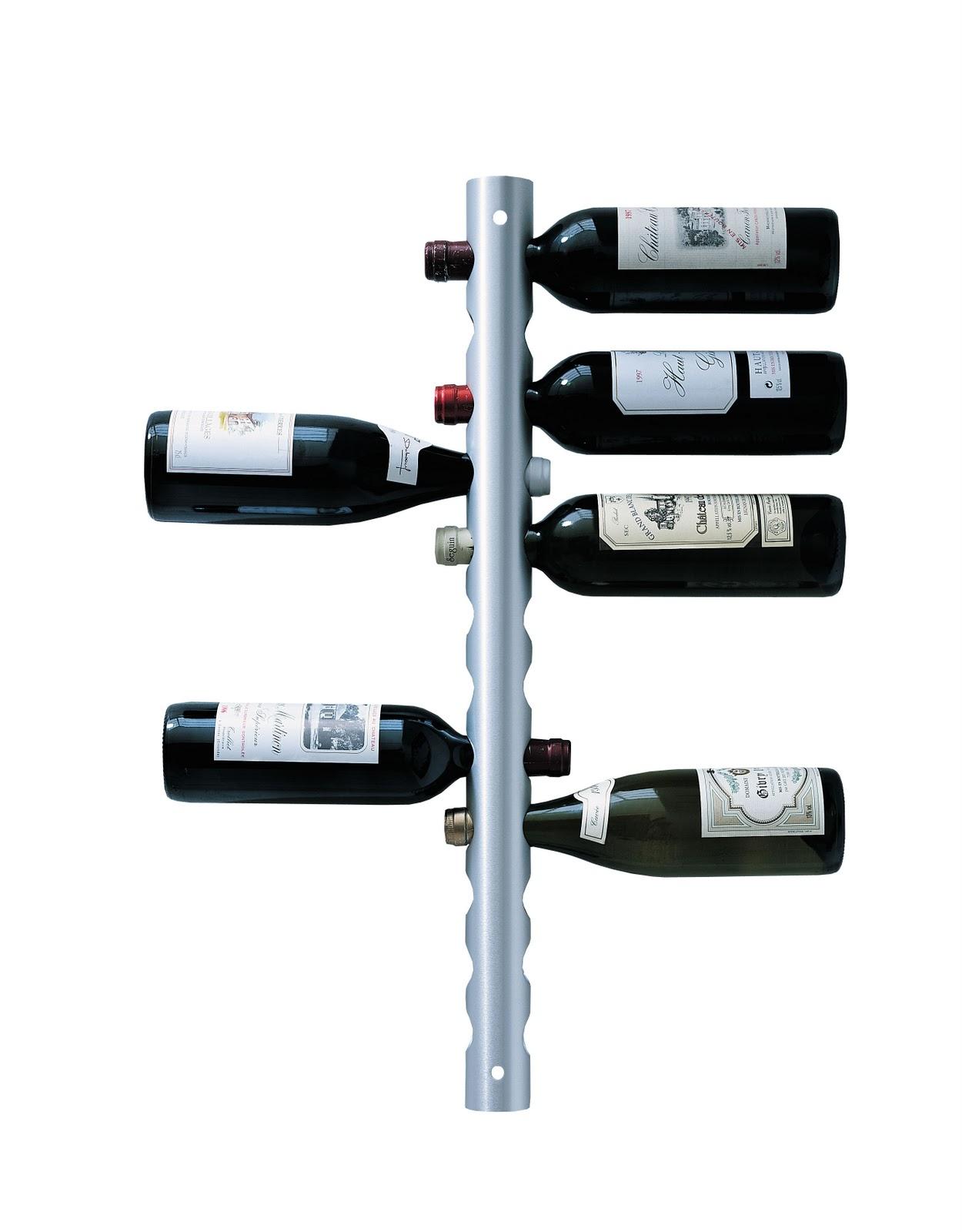 Vertical Wall Wine Rack Designs