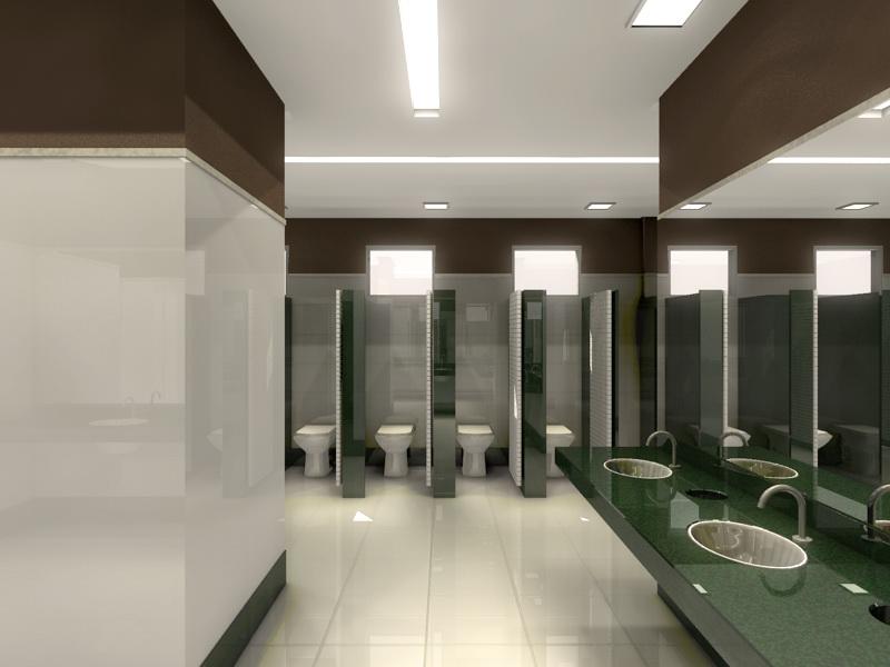 Aline Santos & Arquitetos Associados Janeiro 2011 -> Banheiros Planejados Em Porto Alegre