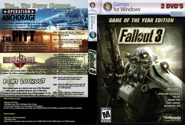 Fallout 3 world map (png) v10 - neoseeker walkthroughs