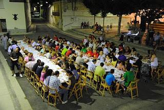 comida popular, pueblo de Marracos