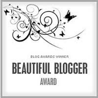 BEAUTIFUL BLOGGER AWARD !