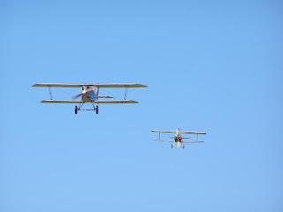 Pfalz DIII and Nieuport XI