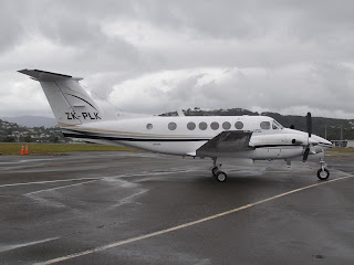 Beech B200C, ZK-PLK, Skyline Aviation