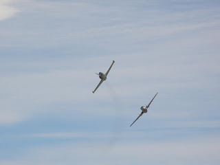L39 Albatros being chased by DH115 Vampire