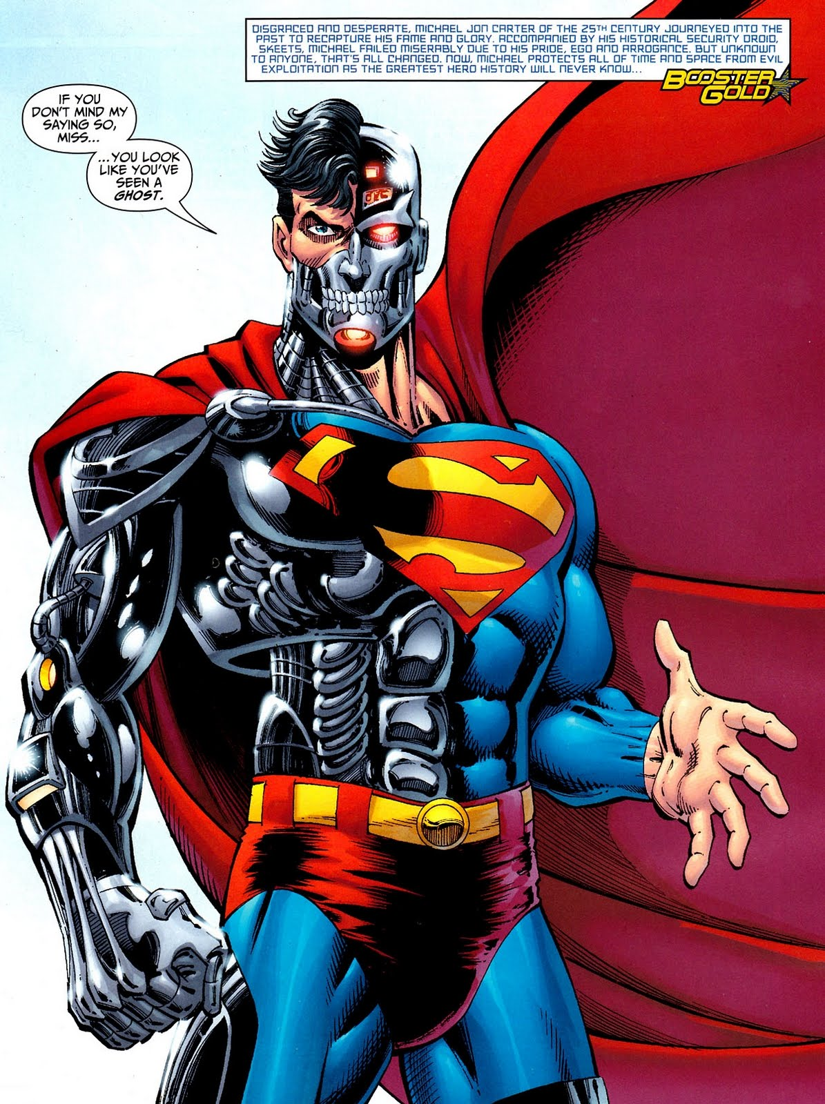 With His Organic Parts Genetically Identical To Supermans Many Believed That The Cyborg Truly Was Last Son Of Krypton Restored Life After Dying In