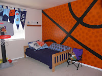 Fun everyday memories basketball bedroom - Comely pictures of basketball themed bedroom decoration ideas ...