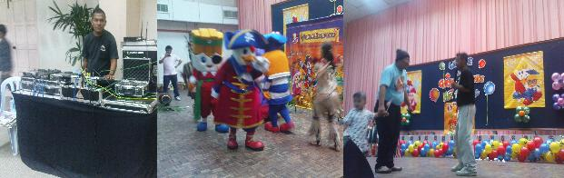 KFC Fun Zone CHICKY SHOW Tk.INTAN 2009