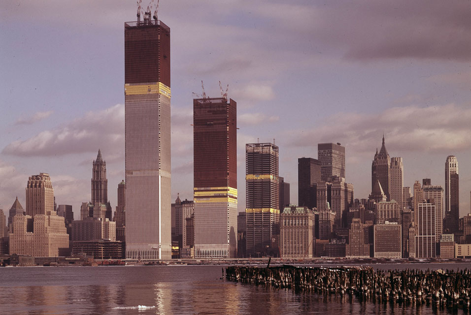 World trade center tops out and messes with everyone s tv