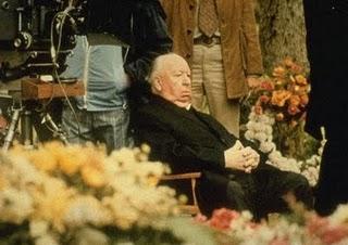 Hitchcock sul set di Complotto di Famiglia