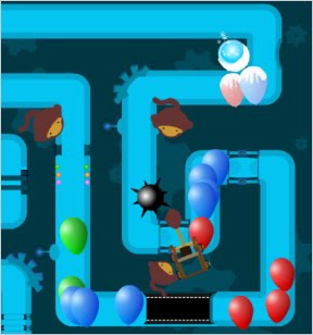 Juego Bloons Tower Defense 3 estrategia